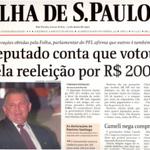 RT @stanleyburburin: FHC criou a reeleição - 1997: Deputado conta que votou pela reeleição de FHC por R$ 200 mil http://t.co/2VpWJaLgev http://t.co/rlxOIWjFd5