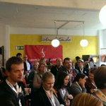 Volle Hütte beim #ccb14 (at @CommunityCamp Berlin in Berlin w/ @_mareiki @chrislietze) https://t.co/t2BcdEjy0P http://t.co/CbQN1g9Mf8