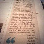 Over een uit de hand gelopen discussie in #Rotterdam. Opinie vandaag in @RDStad. #zwartepiet #LR #010debat http://t.co/aBMRxlcjfQ