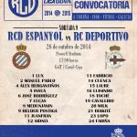 RT @dxtcampeon: Convocatoria para el partido ante el Espanyol http://t.co/iQaElwRMZ2