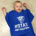 RT @MattNewhouseGSU: Even the little one is amped for the @GSUPanthers game today! #AllBlueAllIn #PantherFamily #StateNotSouthern http://t.co/XnD3zIPzYr