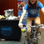 RT @LiveWellatDal: Were at #DalOpenHouse with our bike blender! Come try out our green smoothies and our health programs on campus! http://t.co/X3nVQmUIZD