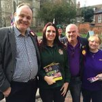 """"""" Why are #UKIP  having their photo taken with #BritainFirst ?""""-@hopenothate  via @Otto_English-       #Rochester  https://t.co/rDqz10jhNQ"""