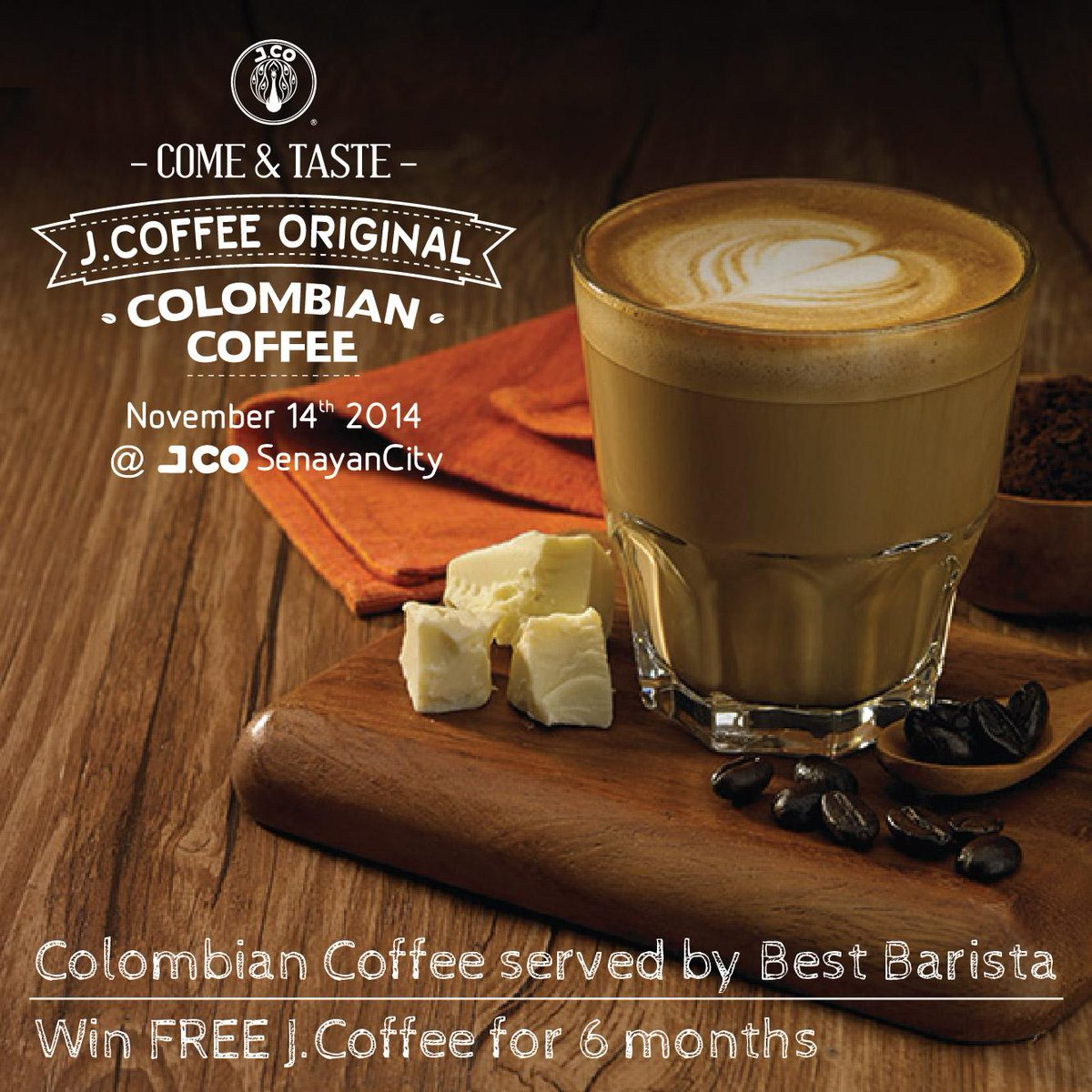 RETWEET this post and have a chance to win FREE http://t.co/44hBNcXTsM for 6 months! #JCoffee http://t.co/CjuYFjEiv9