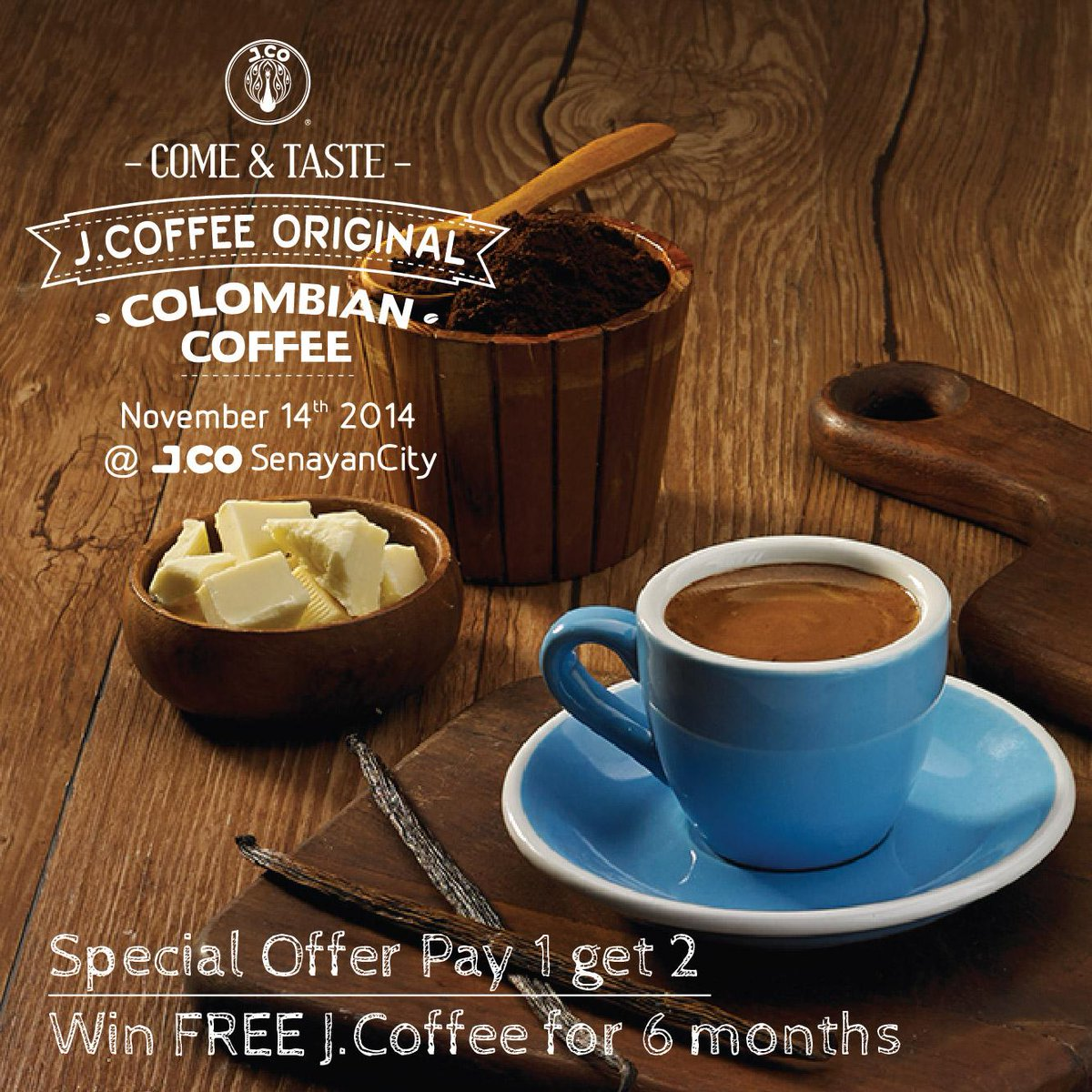 RETWEET this post and have a chance to win FREE http://t.co/44hBNcXTsM  for 6 months! #JCoffee http://t.co/AE4KAkKgQS