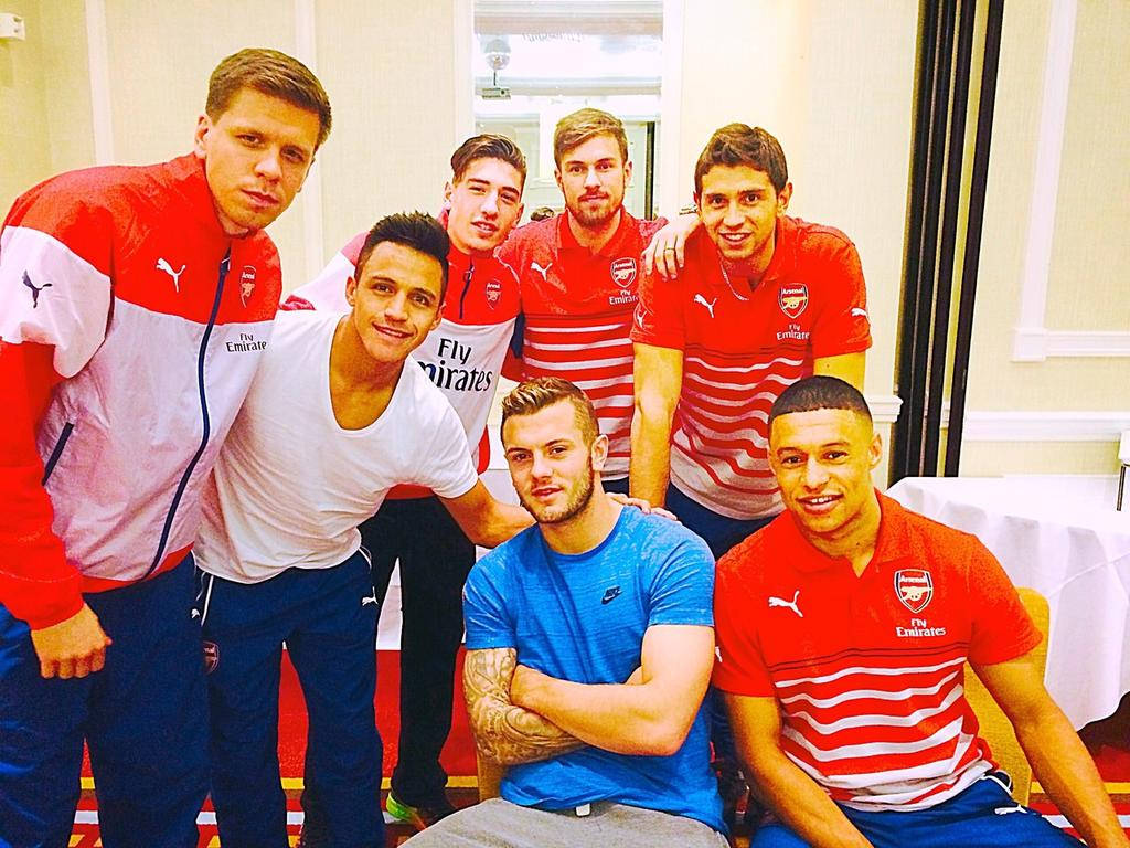 """Ermmmmmm... """"@Alexis_Sanchez: Going to sleep! Tomorrow those 3 points are coming to London!!! #GUNNERS http://t.co/2PvjMF9nuD"""""""