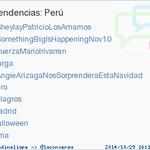 #AngieArizagaNosSorprenderaEstaNavidad acaba de convertirse en TT ocupando la 5ª posición en Perú #trndnl http://t.co/zdFyQwNEaC