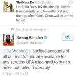 RT @dreamthatworks: LOL: Big Slap via @yogrishiramdev ! #BlackMoneyHolder #KejriwalQuotes @anilkohli54 @KiranKS #YennaiArindhaal #Delhi http://t.co/rMAVgte9NA