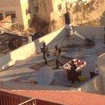 RT @yassirashour: #صورة| المنزل الذي استشهد على سطحه الأسير المحرر معتز حجازي في بلدة سلوان ،وتظهر في الصور دماء الشهيد http://t.co/WFQx9MsYKB