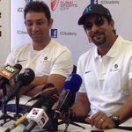 Thanks to the great man @wasimakramlive who came as the 1st guest at the T20 camp at the @ICCAcademy & added so much