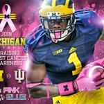 Well be wearing pink this Saturday vs. Indiana in honor of Breast Cancer Awareness. http://t.co/huuTsKlxPt