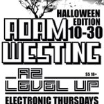 #A2levelup #Halloween edition TONIGHT @btbCantina w/ our own @AdamWesting and special guest @WaltBridgforth #AnnArbor http://t.co/VGghLYJSXC