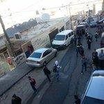 قوات #الاحتلال تلقي قنابل الغاز والصوت تجاه طلاب المدارس في حي الطور بـ #القدس #فلسطين http://t.co/XkkO3X59og