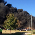 UPDATE: 4 dead, 5 injured after plane crashes into building at Kansas airport: http://t.co/BV9kvejITW http://t.co/7YJ3O1IR6F