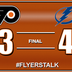 The #Flyers rally fell short as their three-game win streak comes to an end in Tampa. http://t.co/SVfGaEgv9a