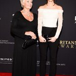 """""""@Variety: Honorees Judi Dench and @EmWatson on the red carpet at @BAFTALAs #Britannias http://t.co/lv5kvn9tNh"""" this image is ageless!"""