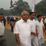 "Participated in ""Run for Unity"" at Delhi today. http://t.co/FH5Zk4EQhC"