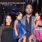 RT @idlebraindotcom: Vishnu Manchu family at Erra Bus music launch  http://t.co/maafTTFXSX @HeroManoj1 @vinimanchu