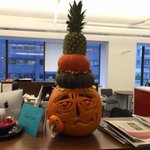 Happy Halloween! We didnt win a pumpkin carving contest so well stick to covering biz news: http://t.co/wBgqX9kFFr http://t.co/RRYzHEcNJ3