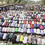 This is what they want to destroy, our unity | Muslims praying as Christians keep watch. In Nigeria, Jan 2012. http://t.co/K7epezbuUr