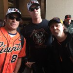 .@Metallica at the @SFGiants victory parade #SFGiants 2014 #WorldSeries #MLB http://t.co/Hpwg6QcYLo