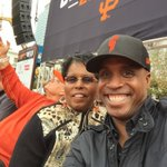 Thanks @SFGiants and Player Look Dad Me and Mom celebrating the 2014 World Series Champions.. http://t.co/F4RcA9BSNa