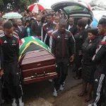 the day Senzo went home.. a hero, but unfortunately in a casket - farewell buccaneer #toosad #RIPSenzoMeyiwa http://t.co/NSoITbNMCr