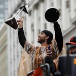 MAD BUM. #SFGParade (Photo by @ScottStrazzante/SFC) http://t.co/zVtBEz3Llh