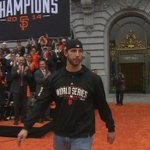 The man, the myth, the legend: #WorldSeries MVP Madison Bumgarner. WATCH: http://t.co/qzMZSre1y0 #MadBum #SFGiants http://t.co/YjFZ2vxnxi