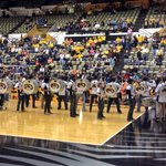 @MarchingMizzou World Famous Drumline supporting @MizzouVB #ThankYou #AwesomeSound http://t.co/hHc8Q62gTP