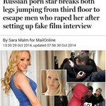 Kat Russia, Porn Star sanggup terjun tingkat 3 utk elak dirogol. Tp di Malaysia? Apa cerita belakang @SaifulBukhari ? http://t.co/YroeaRRlT3