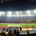 Not too long now. Full house at SNBJ. Of course. #MalaysiaCupFinal http://t.co/jyedsXAhya