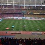 Stadium Nasional Bukit Jalil dibanjiri penyokong-penyokong Tok Gajah & Harimau Selatan! #PialaMalaysia2014 @Khairykj http://t.co/QZ7ZPvs1ys