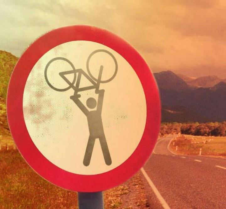 This sign should be at the top of every hill! http://t.co/9189CymzCX http://t.co/CFAZ9TJ5ad