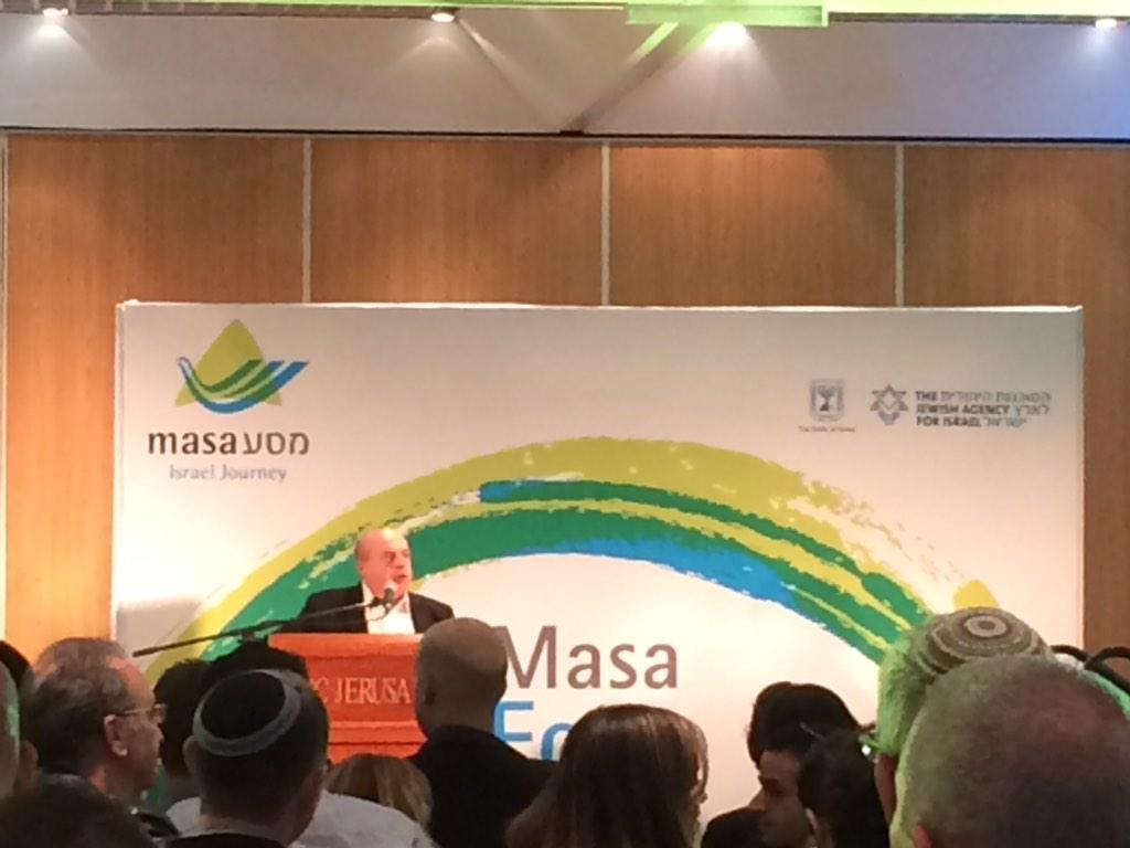 .@JewishAgency Chair Natan Sharansky: no better way of strengthening someone's Jewish identity than coming to Israel http://t.co/athaPioOOg