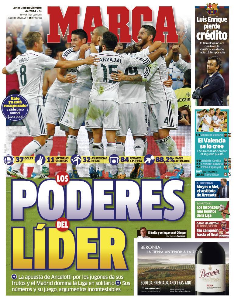 'Los poderes del líder'  #LaPortada http://t.co/iQxzbW0FWb