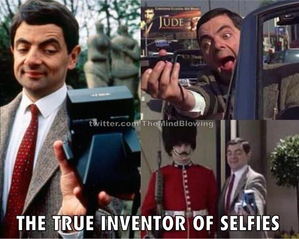Believe it or not, but he's the true inventor of selfies: http://t.co/l5en2Gsywt