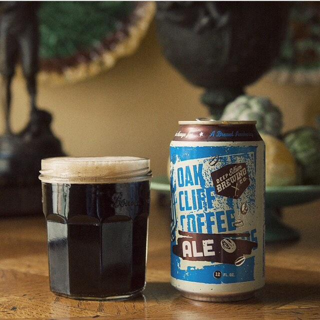Now on our grocery list, a new local collaboration #OakCliffCoffeeAle from @deepellumbrewco & @OakCliffCoffee #regram http://t.co/aen92udd2H