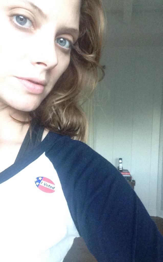 #GoVote2014 woot! http://t.co/9AhcO4ab4V