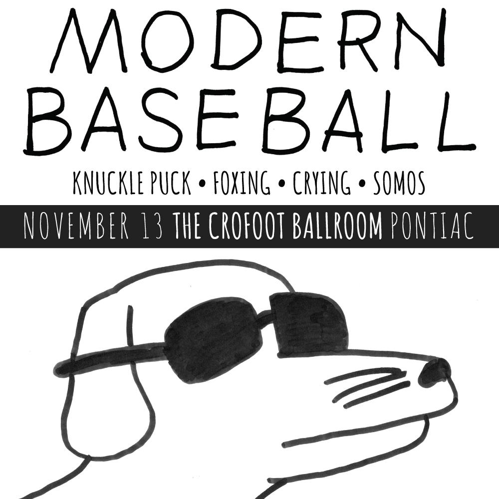 Cool Show Alert! Next Thursday @ModernBaseball come to @TheCrofoot! We Have Tix! Tune into Top 5 Mon and Tues to win! http://t.co/Qr3PadIGhc