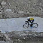 RT @baldersdale: Ukrainian track cyclist training on remains of bombed out velodrome. Shows how lucky we are in UK.