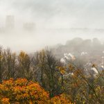 #Durham cathedral looking ghostly in the #fog this morning. @ThisisDurham @VisitBritain @durhamcathedral http://t.co/Ye7rb7GGij