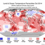 ICYMI: #October global avg temp is highest on record for month per @NOAANCDC #StateOfClimate http://t.co/jUiiTdpZME http://t.co/hvCp7PUDq0