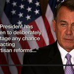 """@SpeakerBoehner rips Obamas #ImmigrationAction plan: http://t.co/Qc4ZPHFo1W @CNNPolitics http://t.co/KGAlhuhyuM"" #PassABillThen #GOP"