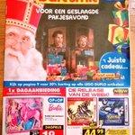 Bart Smit schoffeert NL-traditie met Sint-folder: Nergens een Zwarte Piet! Zwarte Piet negeren? Dan boycot! http://t.co/GPDkDb63pn
