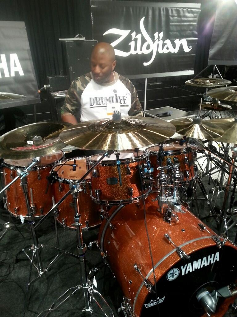 """@YamahaDrums: @GCampEnt on stage at #Pasic2014 - great advice and some great performances !! #YamahaPASIC http://t.co/6nZgy84iUL"" thanks!"