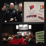 @StanSheriff, @ModestoFire & Chief Carroll raising money for Salvation Army during the 2014 Kettle Kick-Off Luncheon. http://t.co/0oSaBnyoPf