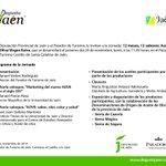 ¡El lunes 24 noviembre os esperamos a las 11.45 h! En @paradores #Jaén para conocer los nuevos aoves de cosecha. http://t.co/R3Ch6NWSAD