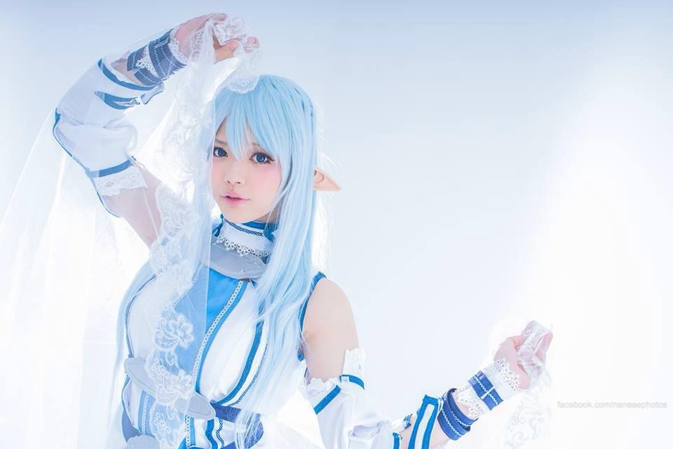 Undine Asuna , photo by Naneee ? Photography 💗✨ #cosplay http://t.co/BaqkOytNED