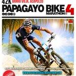 ¡Ya llegó el Papagayo Bike Marathon 4 en #Acapulco! prepara tu bicicleta y tu casco para ganar. http://t.co/OotwrAwYZN